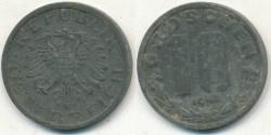World Coins - AUSTRIA - 1948, 10 Groschen - KM# 2874