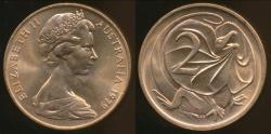 World Coins - Australia, 1979 Canberra 2 Cent, Elizabeth II - Uncirculated