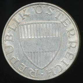 World Coins - Austria, Republic, 1968 10 Schilling (Silver) - Very Fine