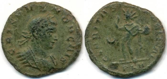 Ancient Coins - CRISPUS, AE follis, AD 317-326, London mint, (19mm, 2.53 gm), Struck AD 317-318 - RIC VII 130 - Rare