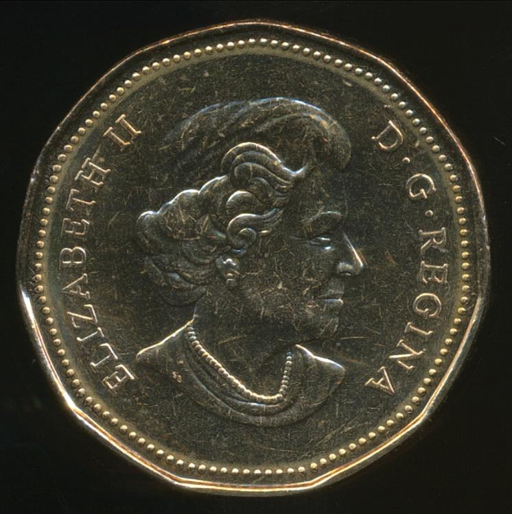 K 1978 One Dollar Coin ELIZABETH II CANADA Nickel