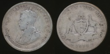 World Coins - Australia, 1914 Florin, 2/-, George V (Silver) - Well Circulated