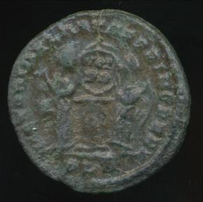 Ancient Coins - CONSTANTINE I, AE-Follis, AD 306-337 (19mm, 2.95 gm) London mint, Struck AD 319, RIC VII 156