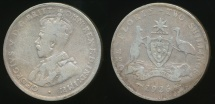 World Coins - Australia, 1926 Florin, 2/-, George V (Silver) - Very Good