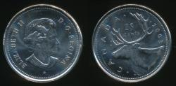 World Coins - Canada, Confederation, 2003(p) 25 Cents, Elizabeth II - Uncirculated