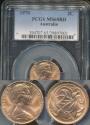 World Coins - Australia, 1970 2 Cents, Elizabeth II - PCGS MS65RD