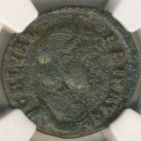 Ancient Coins - ROMAN EMPIRE - Galeria Valeria, BI Nummus - NGC VF