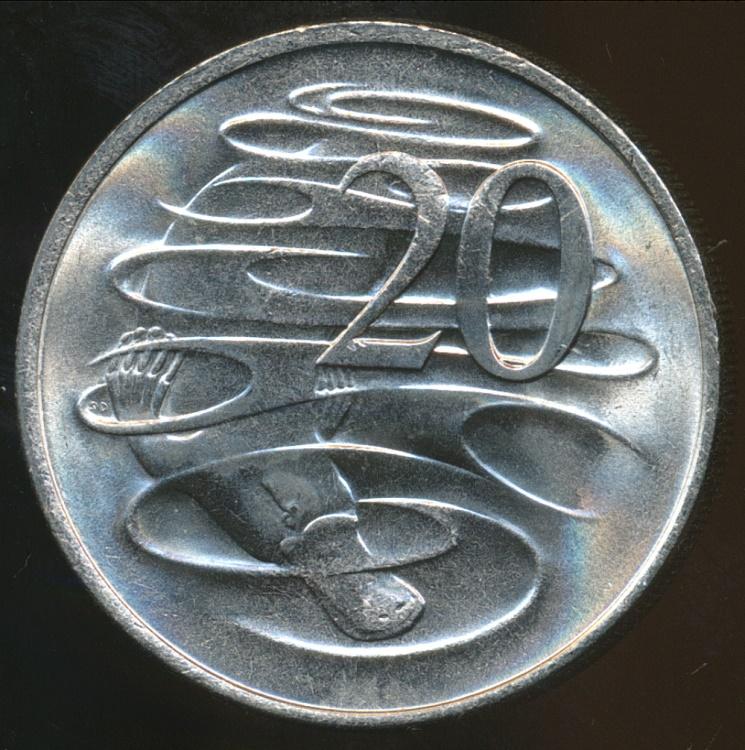 elizabeth ii australia 1981 20 coin