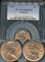 World Coins - Australia, 1973 Two Cents, 2c, Elizabeth II - PCGS MS65RD