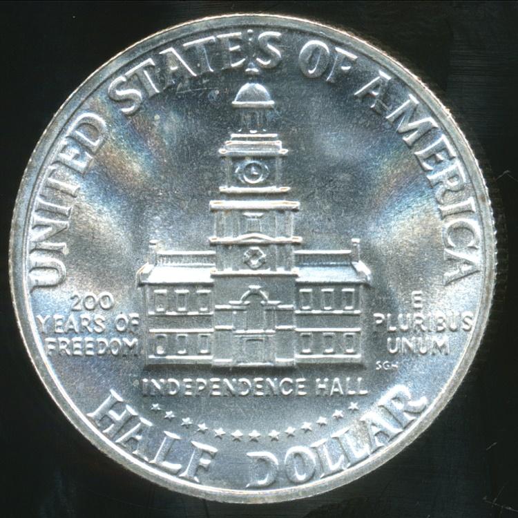 United States 1976 S Half Dollar Kennedy Bicentennial