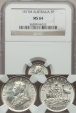 World Coins - Australia, 1917(m) Threepence, George V (Silver) - NGC MS64
