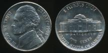 World Coins - United States, 1994-D 5 Cents, Jefferson Nickel - Uncirculated