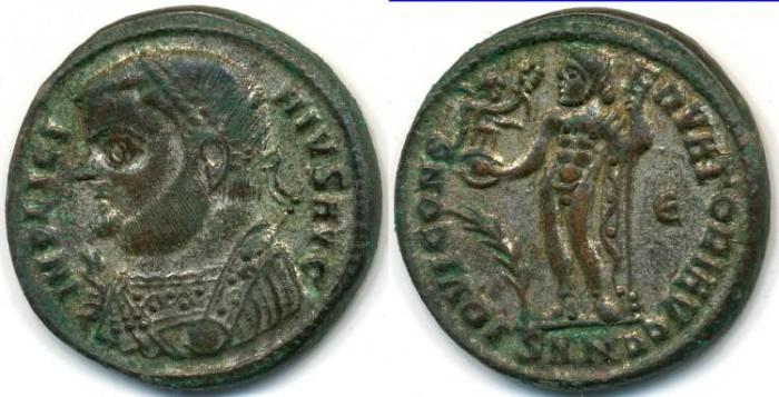 Ancient Coins - LICINIUS I, AE-Follis, AD 308-324, Nicomedia mint, (18mm, 3.62 g) - RIC VII, 24