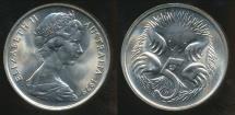 World Coins - Australia, 1979 5 Cents, Elizabeth II - Choice Uncirculated