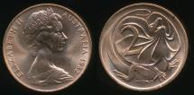 World Coins - Australia, 1982 Two Cents, 2c, Elizabeth II - Uncirculated