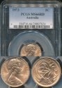 World Coins - Australia, 1973 Two Cents, 2c, Elizabeth II - PCGS MS66RD