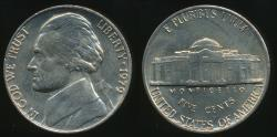 World Coins - United States, 1979-P 5 Cents, Jefferson Nickel - Uncirculated
