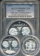World Coins - Jamaica, Commonwealth, Elizabeth II, 1972 10 Dollars (10th Anniversary of Independence) - PCGS PR68DCAM