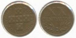 World Coins - PORTUGAL - 1951, 20 Centavos, KM# 584