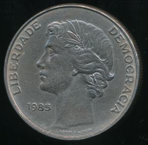World Coins - Portugal, Republic, 1985 25 Escudos - Extra Fine