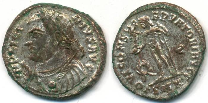 Ancient Coins - LICINIUS I, AE-Follis, AD 308-324, Cyzicus mint, (19mm, 3.47 g) - RIC VII, 9
