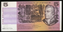 World Coins - Australia, 1972 Five Dollars, $5, Phillips/Wheeler, R204 - almost Uncirculated
