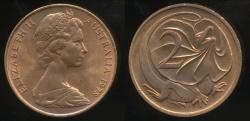 World Coins - Australia, 1978 Two Cents, 2c, Elizabeth II - Uncirculated