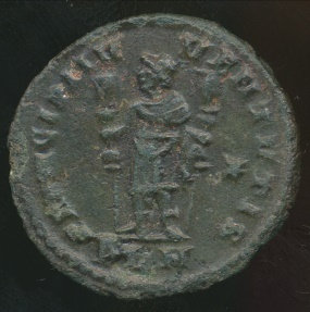 Ancient Coins - CONSTANTINE I, AE-Follis, AD 306-337, Struck AD 310-312 (23mm, 3.28 g) London mint, RIC VI 215