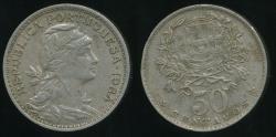 World Coins - Portugal, Republic, 1964 50 Centavos - Very Fine
