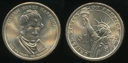 World Coins - United States, 2009-P William Henry Harrison Presidential Dollar, $1 - Uncirculated