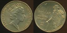 World Coins - Australia, 1995(c) One Dollar (Paterson) Elizabeth II - Choice Uncirculated