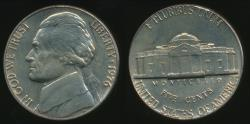 World Coins - United States, 1976-P 5 Cents, Jefferson Nickel - Uncirculated