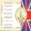World Coins - Falkland Islands, 1992 Uncirculated Mint set of 8 coins