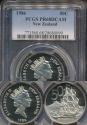 World Coins - New Zealand, 1986 Fifty Cents, 50c, Elizabeth II - PCGS PR68DCAM