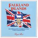 World Coins - Falkland Islands, 1987 Uncirculated Mint set of 7 coins