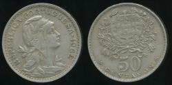 World Coins - Portugal, Republic, 1962 50 Centavos - Very Fine