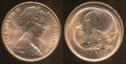 World Coins - Australia, 1978 One Cent, 1c, Elizabeth II - Uncirculated