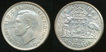 World Coins - Australia, 1940(m) Florin, 2/-, George VI (Silver) - Extra Fine