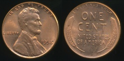 World Coins - United States, 1958 One Cent, Lincoln Wheat - Uncirculated