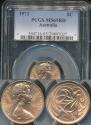 World Coins - Australia, 1973 Two Cents, 2c, Elizabeth II - PCGS MS65RD