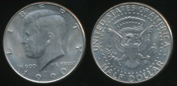 World Coins - United States, 1990-P Half Dollar, Kennedy - Uncirculated