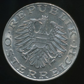 World Coins - Austria, Republic, 1990 10 Schilling - Extra Fine