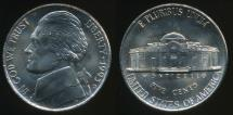 World Coins - United States, 1993-D 5 Cents, Jefferson Nickel - Uncirculated