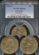 World Coins - Australia, 1993(c) One Dollar, $1, Elizabeth II (Landcare) - PCGS MS66