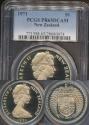 World Coins - New Zealand, 1971 One Dollar, $1, Elizabeth II - PCGS PR65DCAM