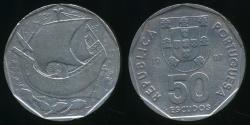 World Coins - Portugal, Republic, 1987 50 Escudos - Extra Fine