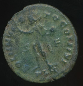 Ancient Coins - CONSTANTINE I, AE-Follis, AD 306-337 (21mm, 2.84 gm) London mint, Struck AD 313-314, RIC VII 10