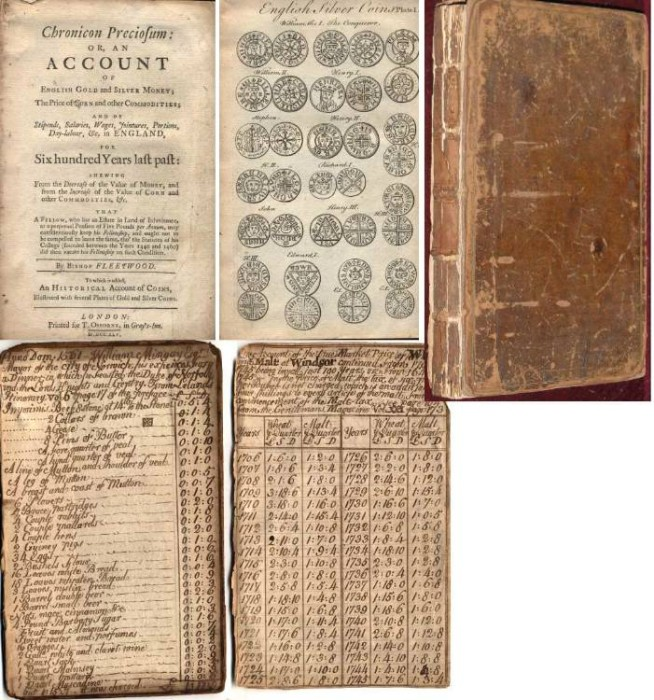 Ancient Coins - AN ACCOUNT OF ENGLISH GOLD AND SILVER MONEY, THE PRICE OF CORN AND OTHER COMMODITIES
