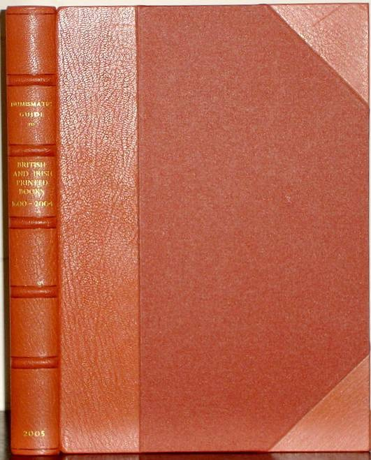 Ancient Coins - Manville, Harrington: Numismatic Guide to British & Irish Printed Books 1600-2004 , deluxe edition