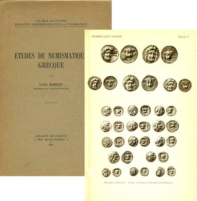 Ancient Coins - Robert: Études de Numismatique Grecque